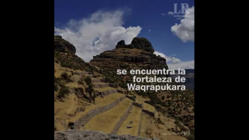 SITIO ARQUEOLOGICO FORTALEZA DE WAQRAPUKARA CUSCO PERU