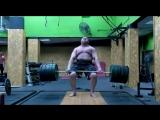 Влад Алхазов тянет 450 кг