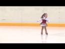 Боулинг Рио - Самая маленькая фигуристка! Ей всего 2,5 года!