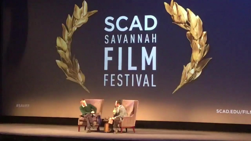 Who would RobertPattinson model his acting career after Watch for the answer! SCAD SAVFF