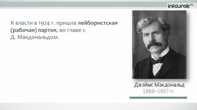 Страны Запада в 1920-е гг_ от процветания к кризису _ Всемирная история 10 класс