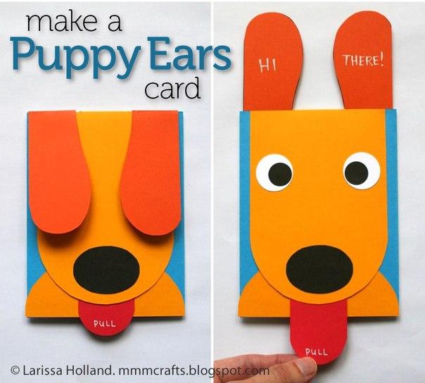 Идея забавной открытки