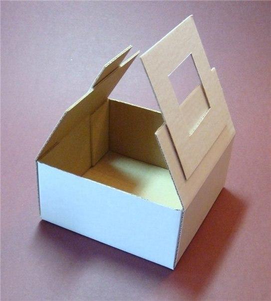 Простенькая коробка с замочком
