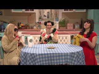 SNL Bein' Quirky with Zooey Deschanel: Kristen Wiig as Björk (2012)