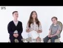 [RUS SUB] Maddie Ziegler, Jacob Tremblay & Jaeden Lieberher Tell Us Their Favorite Things ¦ Teen Vogue