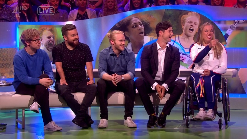 The Last Leg 12x10 - Para Athletics Special 2 - Johnny Vegas, Liam Malone, Jonnie Peacock, Ellie Simmonds, Hannah Cockroft