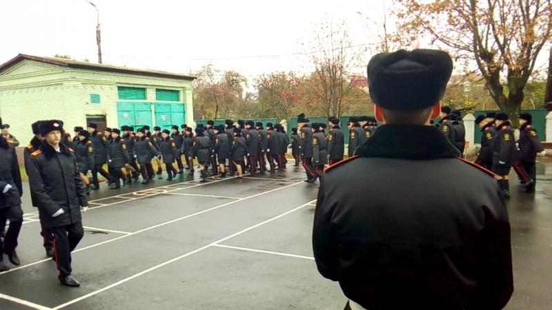 Принесение клятвы кадет в Гомельском кадетском училище