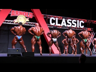 Arnold Classic Europe 2017 - Prejudging Final Callout