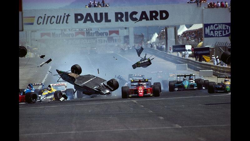 09.07.1989 г. Гран-При Франции,Поль-Рикар. Гонка