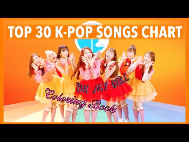 K-VILLES [TOP 30] K-POP SONGS CHART - APRIL 2017 (WEEK 1)