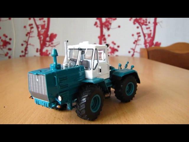 Масштабная модель трактора Т-150 SSM в масштабе 1:43