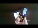 Электронная зажигалка прикуриватель в подарочной упаковке