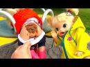 Куклы Пупсики ОБКАКАЛАСЬ НА ПРОГУЛКЕ Беби Бон Беби Элайв Дети Гуляют в Парке