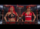 WFW RAW: Eva Mary vs Nikki Bella [¼ of Tournament for 1'st contender for Women Championship]