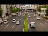 Tokyo traffic day-night