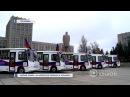 Первый пошел 10 автобусов Донбасс прибыли в Горловку 10 11 2017 Панорама