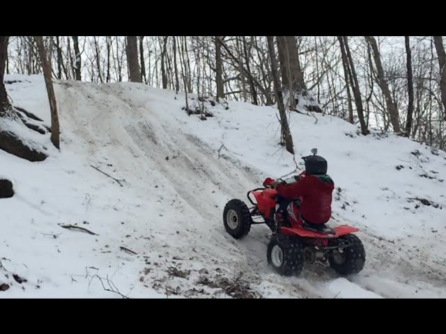 Trx450r RAW winter clips