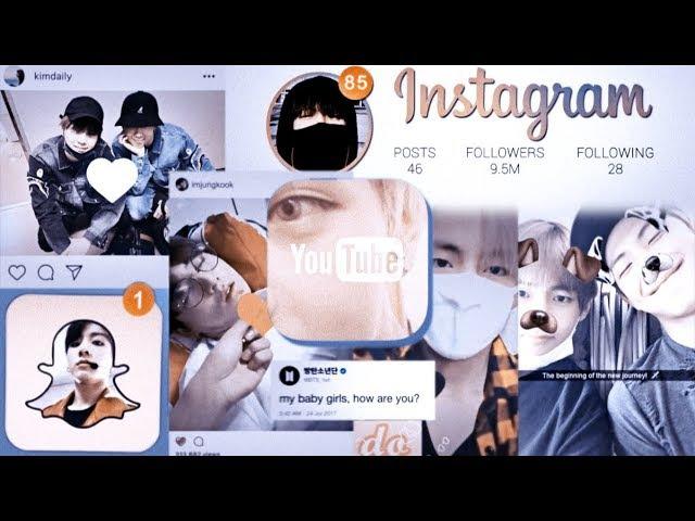 BTS — SOCIAL MEDIA!AU [MEP]