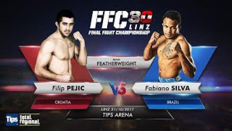 FFC 30: Filip Pejic vs. Fabiano Silva