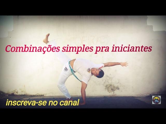 Capoeira combinações / floreios