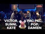 VICTOR + SUNNI + KATE vs FLAVA TRIP 360 / SEMI FINAL / RED BULL BC ONE 3VS3