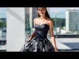 Романтичное вечернее платье серого цвета Гелио от PAULINE