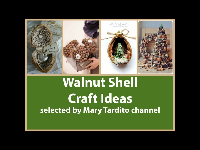 Walnut Crafts Ideas – Nature Crafts to Make and Sell - Walnut Christmas Ornaments Inspo
