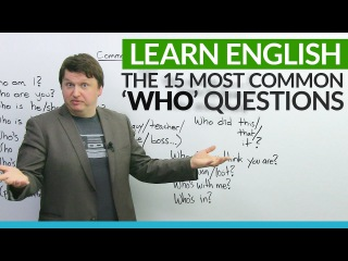 15 Common WHO Questions in English