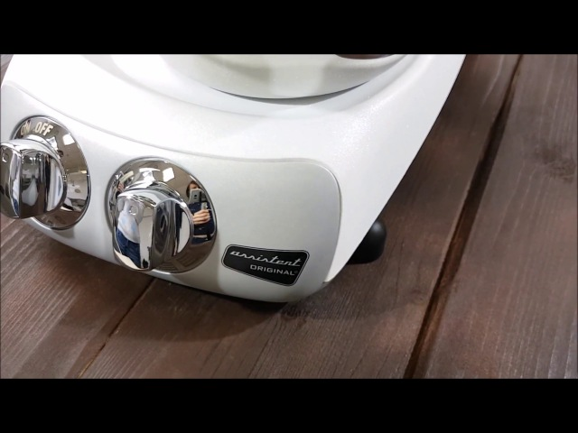 Кухонный комбайн Ankarsrum Assistent AKM6230 White, минерально-белый