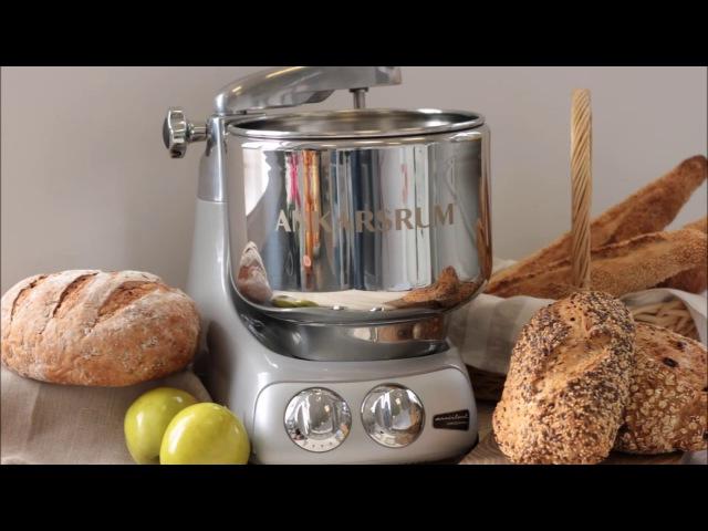 Цвет серебристо-серый, кухонный комбайн-тестомес AKM6230JS