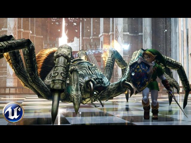 Unreal Engine 4 - Zelda: Armogohma Fight [Download link]