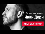 Иван Дорн - Ты всегда в плюсе ANDI VAX Remix