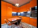 Оранжевая кухня - дизайн кухни оранжевого цвета