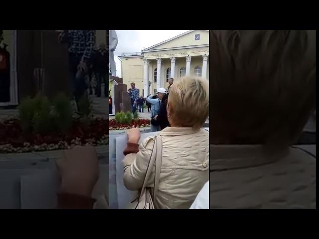 Выступление руководителя московского отделения НДП. Митинг Люберцы 9.07.2017