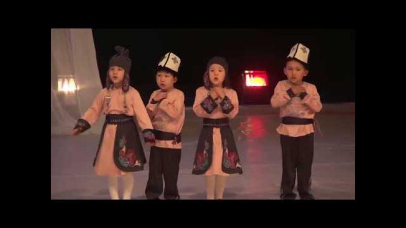 Бала бакча балдары Пайгамбарыбызга арнаган ыры