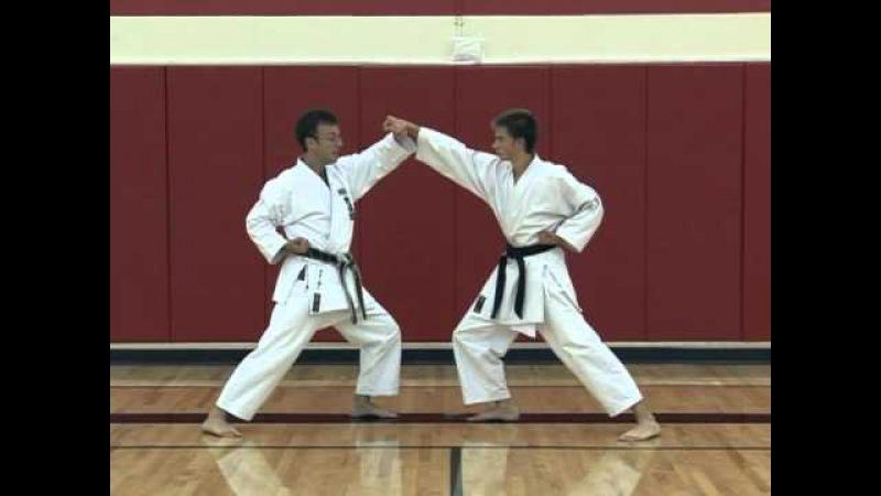 Basic Partner Work Sanbon Kumite Part 2