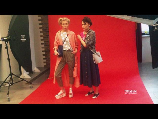 Бекстейдж съемка для каталога одежды M Collection