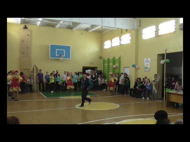 Танец воспитателей детского сада.