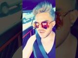 Adam Lambert's Snapchat story 21417