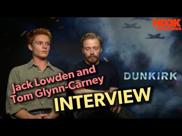 Jack Lowden and Tom Glynn-Carney on DUNKIRK | *UNEDITED INTERVIEW*