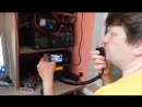QSO on 40m ICOM IC-7300 Kenwood TS-590S