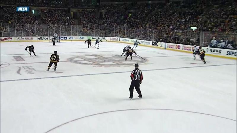 Anton Khudobin Save(Vancuver Canucks-Boston Bruins 11.02.2017)