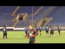 Тренировка сборной Испании на стадионе «Петровский» в Санкт-Петербурге (2 часть, 13.11.2017)