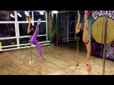 Exotic Pole Dance Омск / Nina Dunina, Жанна Фирс