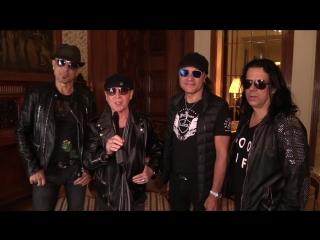 Scorpions приглашают на концерт 1 ноября в Москве