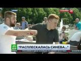 Корреспондента НТВ получил по роже в прямом эфире