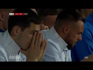 Украина - Мальта 0:1. Обзор товарищеского матча.