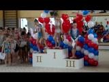 Церемония награждения гимнасток