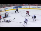 Ovechkin and Kuznetsov Slick Tic Tac Toe Passing Play to score (10