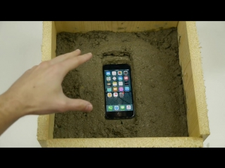 Putting an iPhone 7 Inside Concrete Rock - What Will Happen